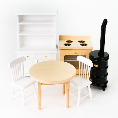 puppenhausm bel aus holz puppenstuben m bel. Black Bedroom Furniture Sets. Home Design Ideas