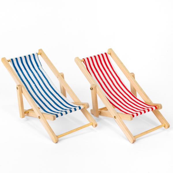 Liegestuhl für Puppenstube, 2,99 €