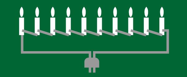 Reihenschaltung bei Lichterketten